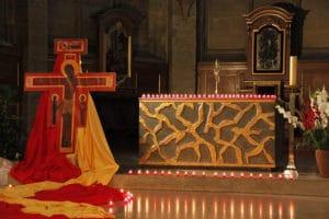 Veillée de prière à la cathédrale