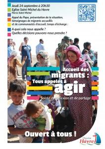 Accueil des migrants : tous appelés à agir