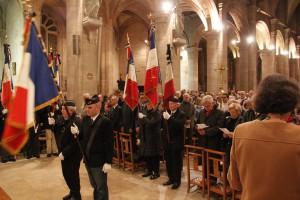 Messe en hommage aux victimes des attentats