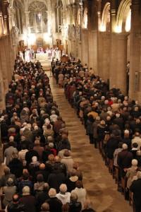 Nef de la cathédrale Notre-Dame du Havre