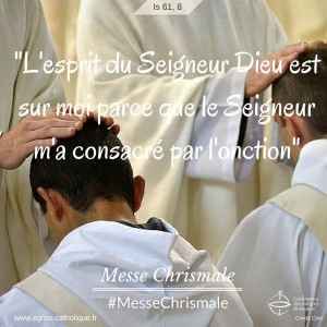 Messe chrismale 2016