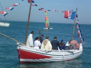 Bénédiction de la mer à Etretat