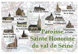 Logo paroisse Ste Honorine