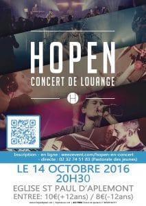 Concert HOPEN
