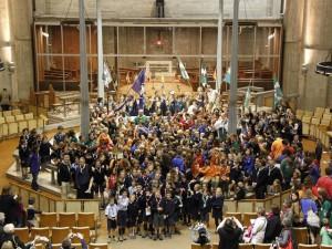 Messe de rentrée inter-scouts