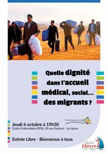Quelle dignité dans l'accueil médical, social… des migrants ?