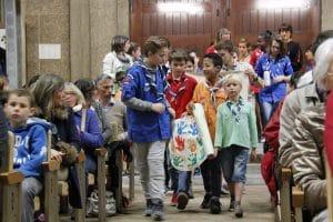 Messe inter-scouts à Saint Joseph
