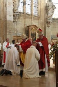 Homélie de l'ordination de Sébastien et de Vincent