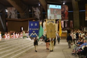 Homélie de la messe d'ouverture du pèlerinage à Lourdes