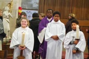 Retour en photos sur la messe de départ du père Martin