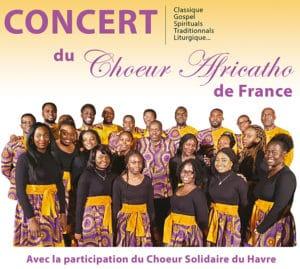 Concert Chœur Africatho de France !