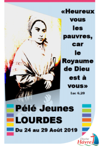 Pélé jeunes à Lourdes