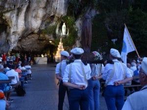 Messe de retour de Lourdes