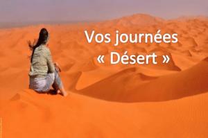 Journée désert