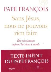 Nouveau livre du pape François