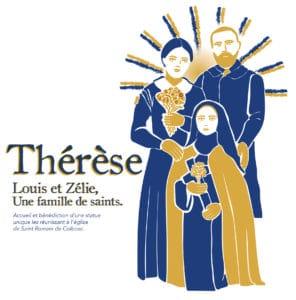 Bénédiction de la statue réunissant Sainte Thérèse et ses parents