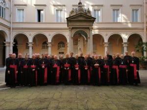 Visita Ad Limina – Mgr Jean-Luc Brunin