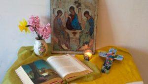 La prière à la maison