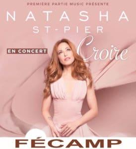 Concert de Natasha St-Pier à Fécamp