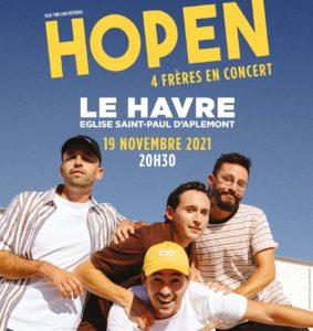 Concert du Groupe Hopen !